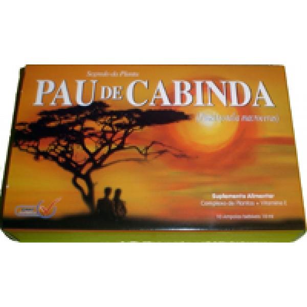 Pau de Cabinda - 10 ampolas