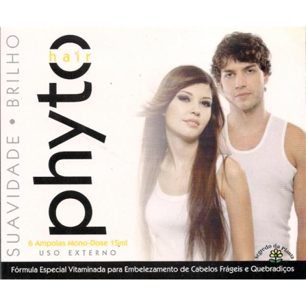 PHYTO-HAIR - Ampolas Anti-Queda Capilar+Cresc.