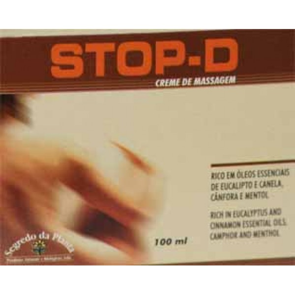 STOP-D - Creme Massagem - Dores Reum. e Musculares 100ml